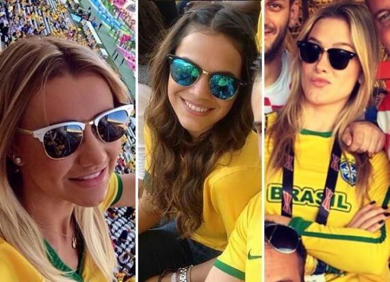 212f17555f95f Famosos na Copa 2014   Lentes e Óculos Viallure