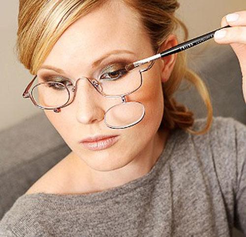 680e1d31ccfe7 ... óculos para maquiagem com grau. Imagem  adorofarra.com.br